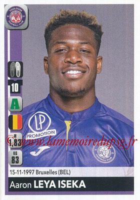 2018-19 - Panini Ligue 1 Stickers - N° 494 - Aaron LEYA ISEKA (Toulouse)