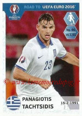 Panini Road to Euro 2016 Stickers - N° 121 - Panagiotis TACHTSIDIS (Grèce)