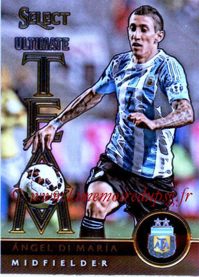 2015 - Panini Select Soccer - N° UT10 - Angel DI MARIA (Argentine) (Ultimate Team)