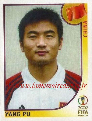 2002 - Panini FIFA World Cup Stickers - N° 209 - Yang PU (Chine)