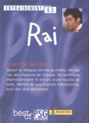 N° 063 - RAI (Verso)