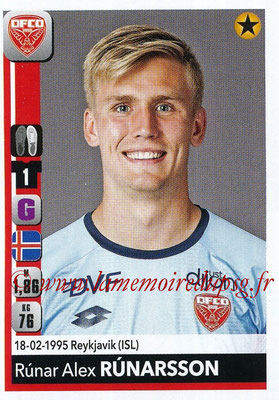 2018-19 - Panini Ligue 1 Stickers - N° 102 - Runar ALEX RUNARSSON (Dijon)