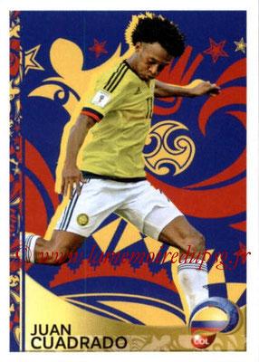 Panini Copa America Centenario USA 2016 Stickers - N° 409 - Juan CUADRADO (Colombie) (En action)