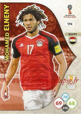 2018 - Panini FIFA World Cup Russia Adrenalyn XL - N° 094 - Mohamed ELNENY (Egypte)