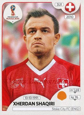 2018 - Panini FIFA World Cup Russia Stickers - N° 385 - Xherdan SHAQIRI (Suisse)