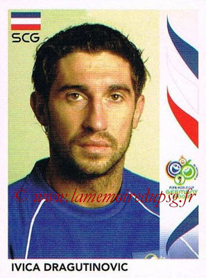 2006 - Panini FIFA World Cup Germany Stickers - N° 210 - Ivica DRAGUTINOVIC (Serbie)