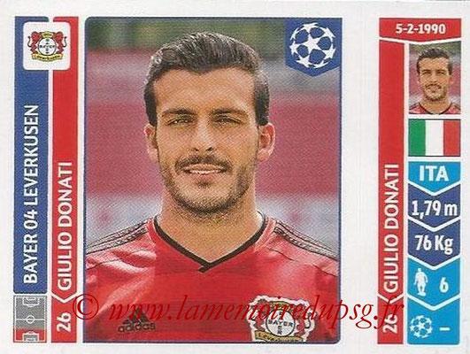 2014-15 - Panini Champions League N° 218 - Guilio DONATI (Bayer 04 Leverkusen)