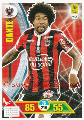 2017-18 - Panini Adrenalyn XL Ligue 1 - N° 238 - DANTE (Nice)