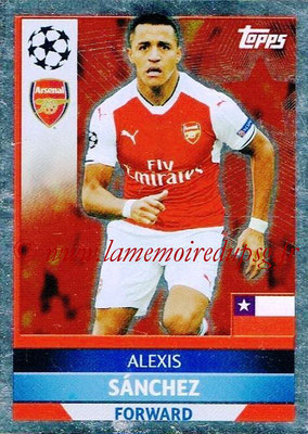 2016-17 - Topps UEFA Champions League Stickers - N° ARL 3 - Alexis SANCHEZ (Arsenal FC)