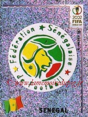 2002 - Panini FIFA World Cup Stickers - N° 044 - Ecusson Sénégal