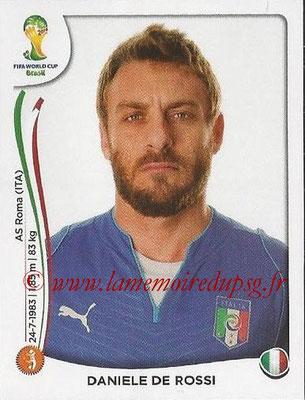2014 - Panini FIFA World Cup Brazil Stickers - N° 326 - Daniele DE ROSSI (Italie)