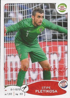 2014 - Panini Road to FIFA World Cup Brazil Stickers - N° 285 - Stipe PLETIKOSA (Croatie)