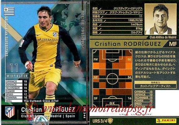 N° URS3 - Cristian RODRIGUEZ (2005-Aout 2007, PSG > 2013-14, Atletico Madrid, ESP) (Uruguyan Superstars)