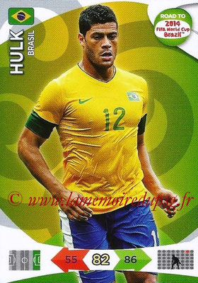 2014 - Panini Road to FIFA World Cup Brazil Adrenalyn XL - N° 027 - HULK (Brésil)