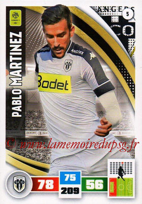 2016-17 - Panini Adrenalyn XL Ligue 1 - N° 005 - Pablo MARTINEZ (Angers)