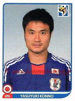 2010 - Panini FIFA World Cup South Africa Stickers - N° 379 - Yasuyuki KONNO (Japon)