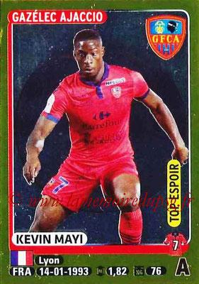 2015-16 - Panini Ligue 1 Stickers - N° 019 - Kevin MAYI (Gazélec Ajaccio) (Top Espoir)