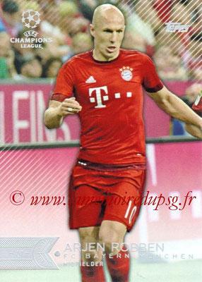 2015-16 - Topps UEFA Champions League Showcase Soccer - N° 135 - Arjen ROBBEN (FC Bayern Munich)