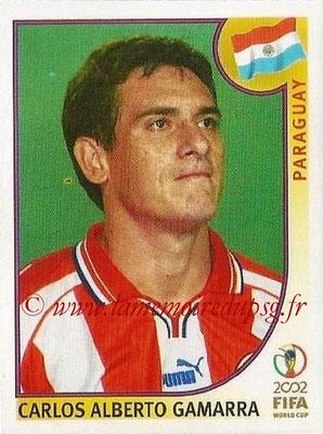 2002 - Panini FIFA World Cup Stickers - N° 137 - Carlos Alberto GAMARRA (Paraguay)