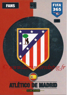 2016-17 - Panini Adrenalyn XL FIFA 365 - N° 131 - Logo Atletico de Madrid (Badge Club)