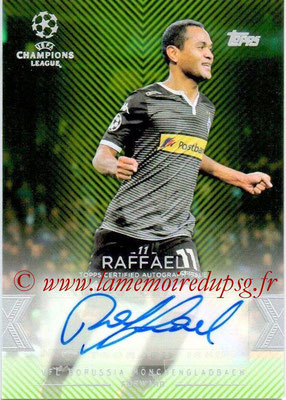 2015-16 - Topps UEFA Champions League Showcase Soccer - N° CLA-R - RAFFAEL (VfL Borussia Mönchengladbach) (Base Autographs Cards)