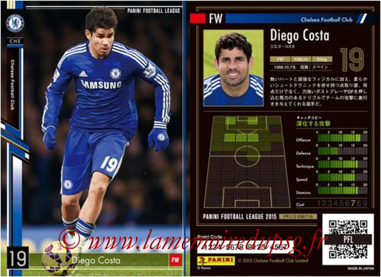 Panini Football League 2015 - PFL13 - N° 056 - Diego COSTA (Chelsea FC)