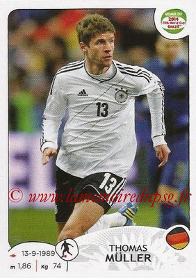 2014 - Panini Road to FIFA World Cup Brazil Stickers - N° 051 - Thomas MULLER (Allemagne)