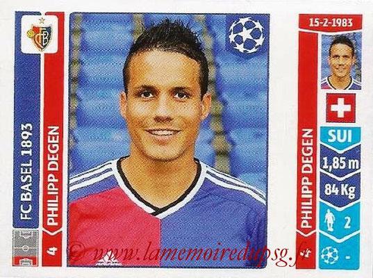 2014-15 - Panini Champions League N° 128 - Philipp DEGEN (FC Bâle)