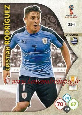 2018 - Panini FIFA World Cup Russia Adrenalyn XL - N° 354 - Cristian RODRIGUEZ (Uruguay)