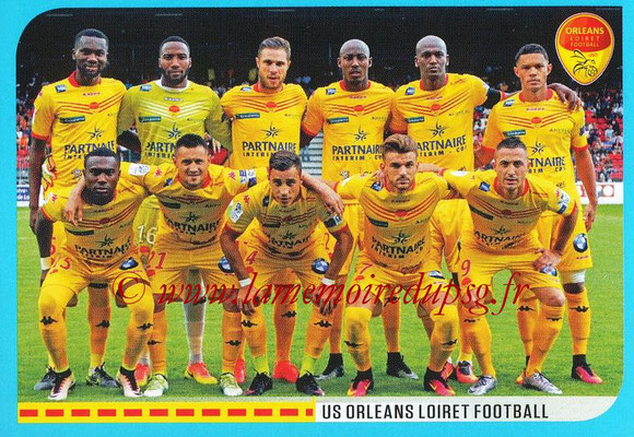 2016-17 - Panini Ligue 1 Stickers - N° 892 - Equipe Orléans