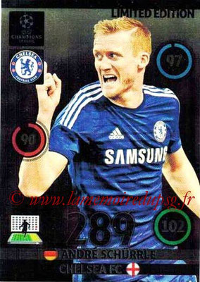 2014-15 - Adrenalyn XL champions League N° LE-AS - Andre SCHURRLE (Chelsea FC) (Limited Edition)