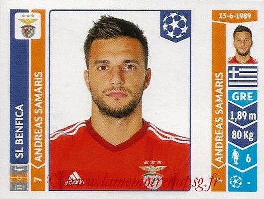 2014-15 - Panini Champions League N° 187 - Andreas SAMARIS (SL Benfica)