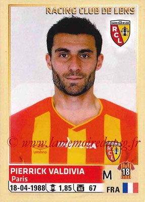 2014-15 - Panini Ligue 1 Stickers - N° 138 - Pierrick VALDIVIA (RC Lens)