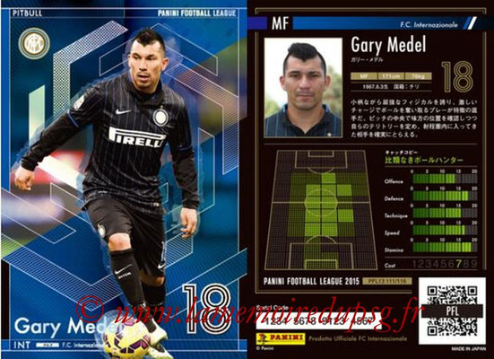 Panini Football League 2015 - PFL13 - N° 111 - Gary MEDEL (FC Internazionale) (Pitbull)