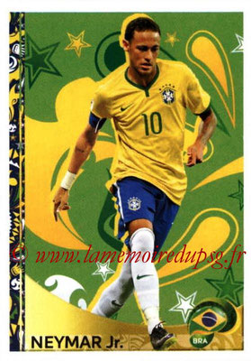 Panini Copa America Centenario USA 2016 Stickers - N° 404 - NEYMAR (Bresil) (En action)