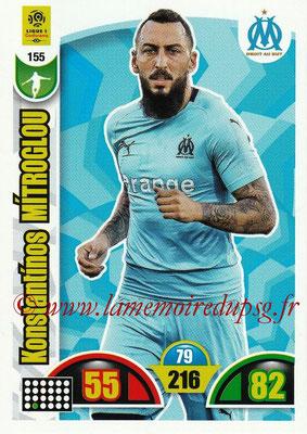 2018-19 - Panini Adrenalyn XL Ligue 1 - N° 155 - Kostas MITROGLOU (Marseille)