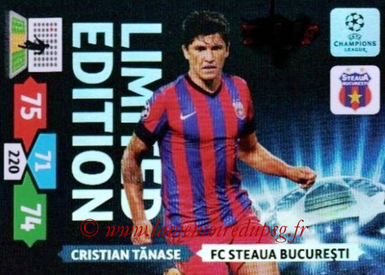 2013-14 - Adrenalyn XL champions League N° LE49 - Cristian TANASE (FC Steaua Bucarest) (Limited Edition)