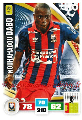 2016-17 - Panini Adrenalyn XL Ligue 1 - N° 056 - Mouhamadou DABO (Caen)