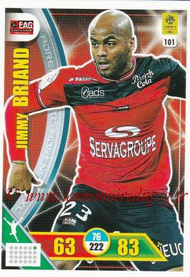 2017-18 - Panini Adrenalyn XL Ligue 1 - N° 101 - Jimmy BRIAND (Guingamp)