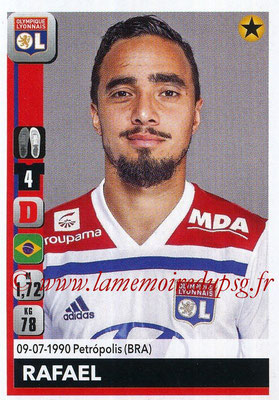 2018-19 - Panini Ligue 1 Stickers - N° 184 - RAFAEL (Lyon)