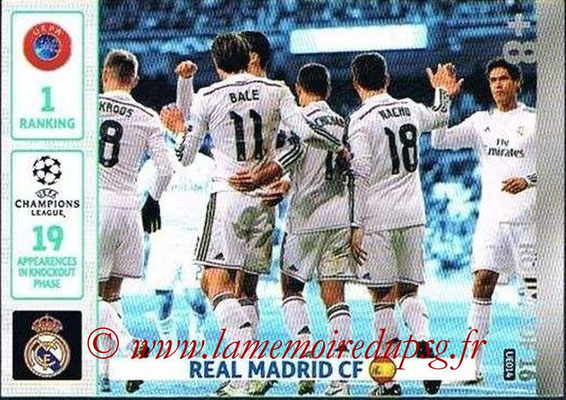 2014-15 - Adrenalyn XL champions League Update edition N° UE014 - Real Madrid (Round of 16)
