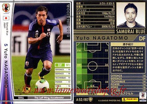 2012-13 - WCCF - N° A52 - Yuto NAGATOMO (Japon)