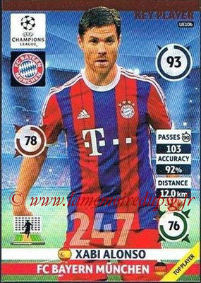 2014-15 - Adrenalyn XL champions League Update edition N° UE106 - Xabi ALONSO (Bayern Munich) (Key Player)