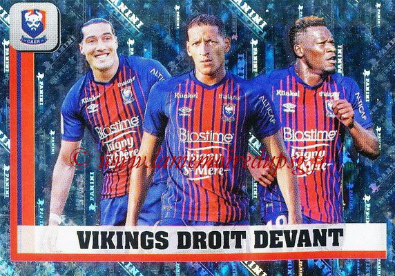 2018-19 - Panini Ligue 1 Stickers - N° 100 - Vikings Droit Devant (Caen)
