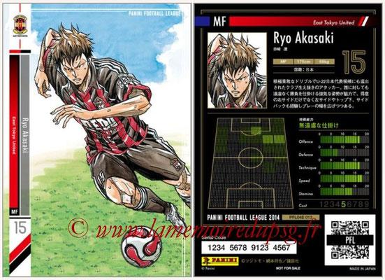 Panini Football League 2014 - PFL04E - N° 013 - Ryo Akasaki (East Tokyo United)