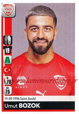 2018-19 - Panini Ligue 1 Stickers - N° 342 - Umut BOZOK (Nîmes)