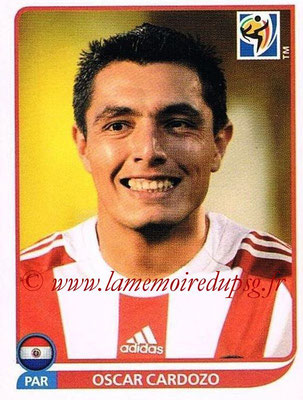2010 - Panini FIFA World Cup South Africa Stickers - N° 447 - Oscar CARDOZO (Paraguay)