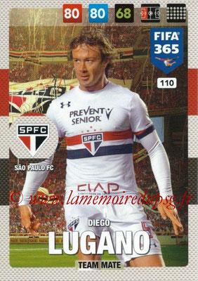 2016-17 - Panini Adrenalyn XL FIFA 365 - N° 110 - Diego LUGANO (Sao Paulo FC)