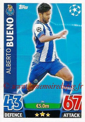 2015-16 - Topps UEFA Champions League Match Attax - N° 034 - Alberto BUENO (FC Porto)