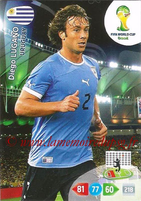 2014 - Panini FIFA World Cup Brazil Adrenalyn XL - N° 307 - Diego LUGANO (Uruguay)